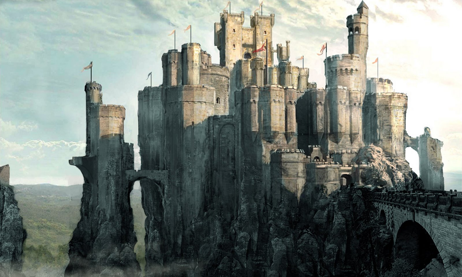 castle concept art by - photo #15