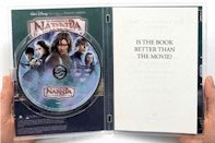 Prince Caspian Book and DVD