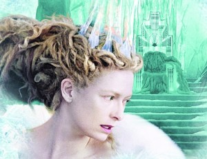 Tilda Swinton as The White Witch in The Lion, the Witch and the Wardrobe