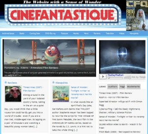Cinefantastique - Frontpage
