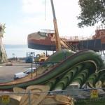 Dawn Treader Set Photo - Dragon's Wings and Ship
