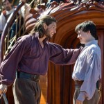 Ben Barnes as King Caspian and Skandar Keynes as Edmund Pevensie
